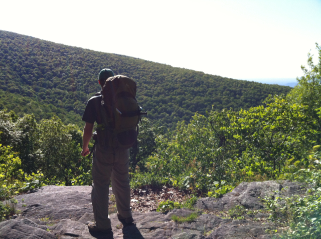 Bootstrapper on the Appalachian Trail